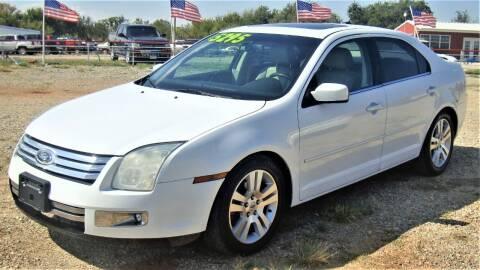 2007 Ford Fusion for sale at Advantage Auto Sales in Wichita Falls TX