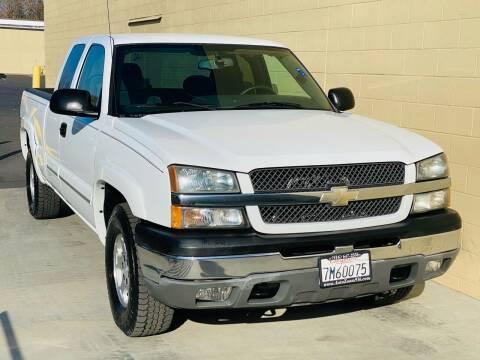 2004 Chevrolet Silverado 1500 for sale at Auto Zoom 916 in Rancho Cordova CA