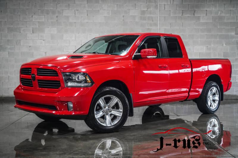 2014 RAM Ram Pickup 1500 for sale at J-Rus Inc. in Macomb MI