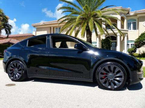 2021 Tesla Model Y for sale at Lifetime Automotive Group in Pompano Beach FL
