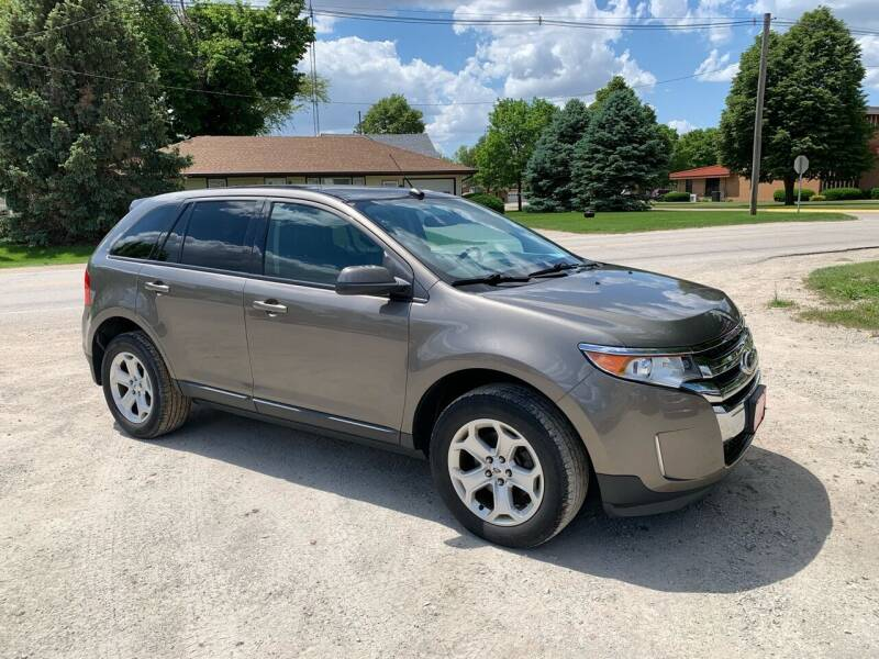 2014 Ford Edge for sale at GREENFIELD AUTO SALES in Greenfield IA