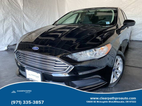2017 Ford Fusion for sale at CLEARPATHPRO AUTO in Milwaukie OR