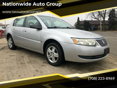 2006 Saturn Ion for sale at Nationwide Auto Group in Melrose Park IL