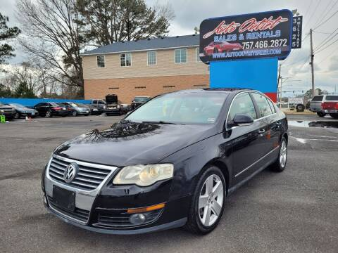 2007 Volkswagen Passat for sale at Auto Outlet Sales and Rentals in Norfolk VA