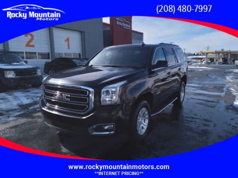 2017 GMC Yukon for sale at Rocky Mountain Motors in Idaho Falls ID