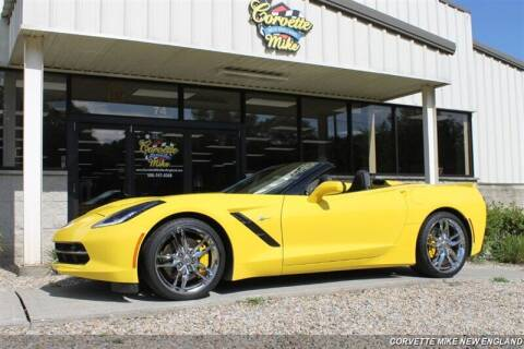 2016 Chevrolet Corvette for sale at Corvette Mike New England in Carver MA