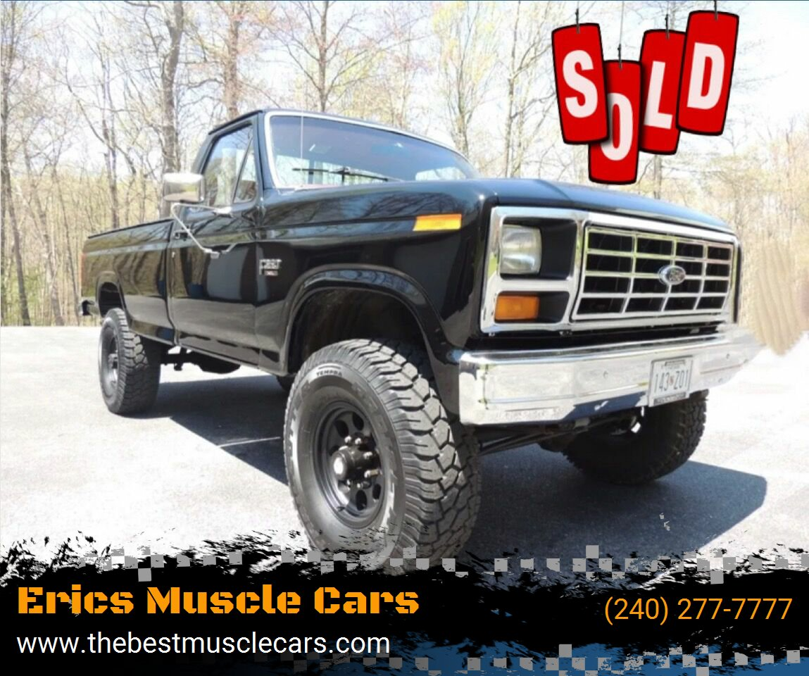 1986 Ford F-350 SOLD SOLD SOLD