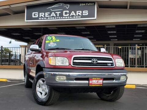 2002 Toyota Tundra for sale at Great Cars in Sacramento CA
