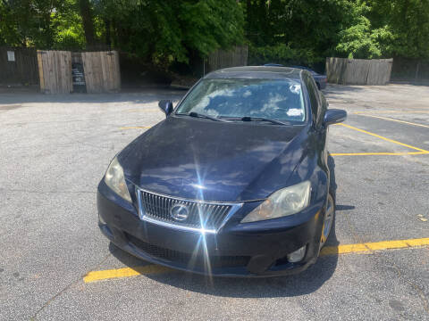 2009 Lexus IS 250 for sale at BRAVA AUTO BROKERS LLC in Clarkston GA