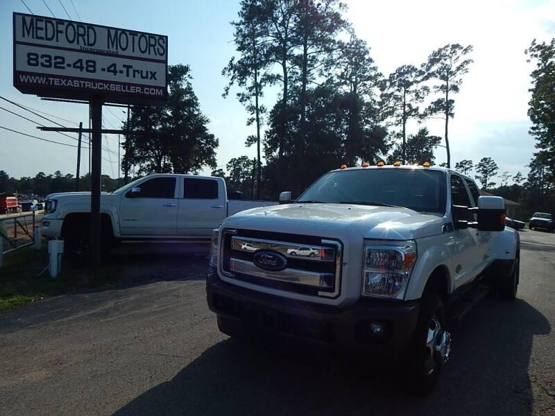 2015 Ford F-350 Super Duty for sale in Magnolia, TX