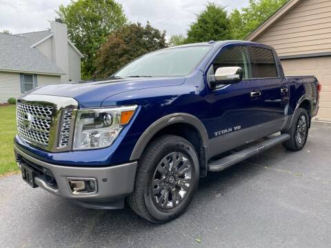 2019 Nissan Titan for sale at Northwoods Auto & Truck Sales in Machesney Park IL