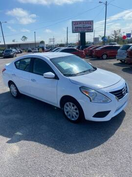 2018 Nissan Versa for sale at Jamrock Auto Sales of Panama City in Panama City FL