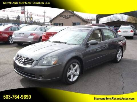 2006 Nissan Altima for sale at Steve & Sons Auto Sales in Happy Valley OR