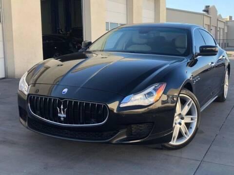 2014 Maserati Quattroporte for sale at European Motors Inc in Plano TX