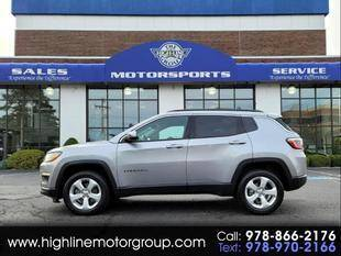 2018 Jeep Compass for sale at Highline Group Motorsports in Lowell MA