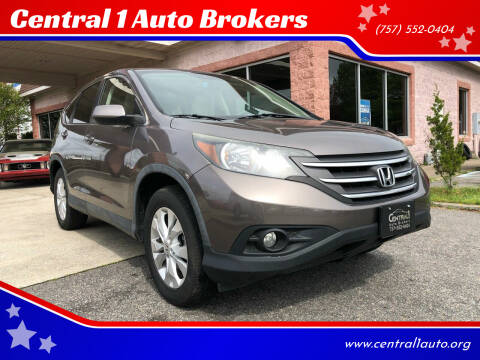 2012 Honda CR-V for sale at Central 1 Auto Brokers in Virginia Beach VA