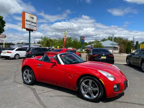 2008 Pontiac Solstice for sale at TDI AUTO SALES in Boise ID