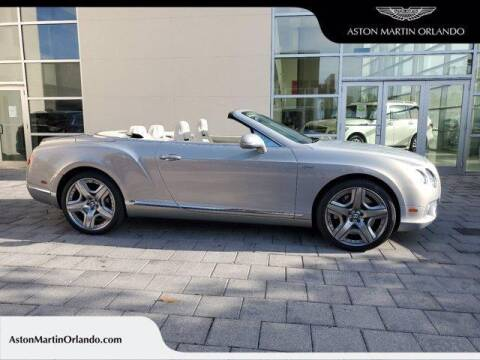 2012 Bentley Continental for sale at Orlando Infiniti in Orlando FL