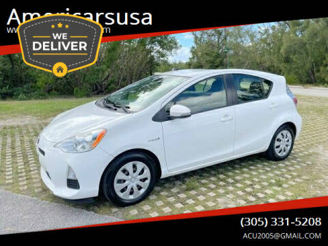 2012 Toyota Prius c for sale at Americarsusa in Hollywood FL