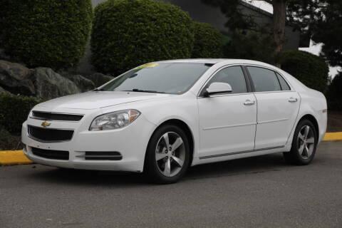2012 Chevrolet Malibu for sale at SS MOTORS LLC in Edmonds WA