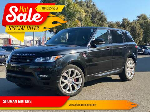 2014 Land Rover Range Rover Sport for sale at SHOMAN AUTO GROUP in Davis CA