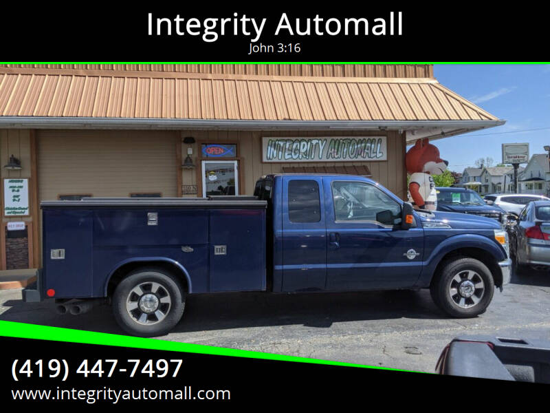2011 Ford F-350 Super Duty for sale at Integrity Automall in Tiffin OH
