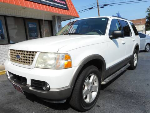 2003 Ford Explorer for sale at Super Sports & Imports in Jonesville NC