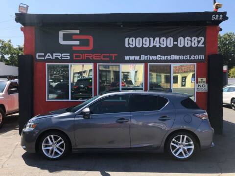 2014 Lexus CT 200h for sale at Cars Direct in Ontario CA