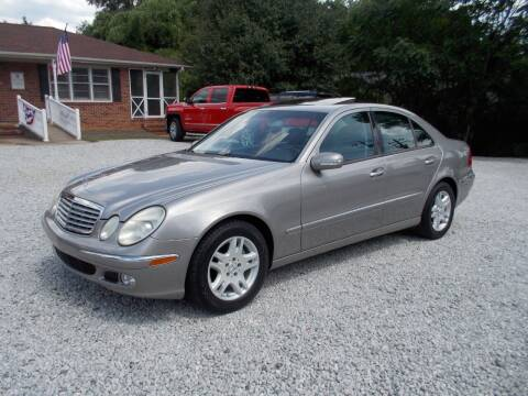 2004 Mercedes-Benz E-Class for sale at Carolina Auto Connection & Motorsports in Spartanburg SC