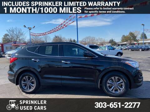 2013 Hyundai Santa Fe Sport for sale at Sprinkler Used Cars in Longmont CO