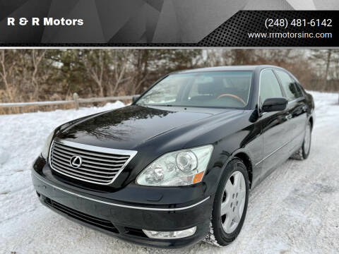 2004 Lexus LS 430 for sale at R & R Motors in Waterford MI