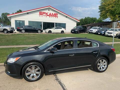 2013 Buick LaCrosse for sale at Efkamp Auto Sales LLC in Des Moines IA