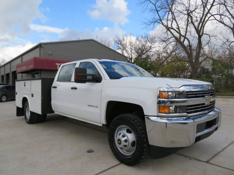 2018 Chevrolet Silverado 3500HD for sale at TIDWELL MOTOR in Houston TX