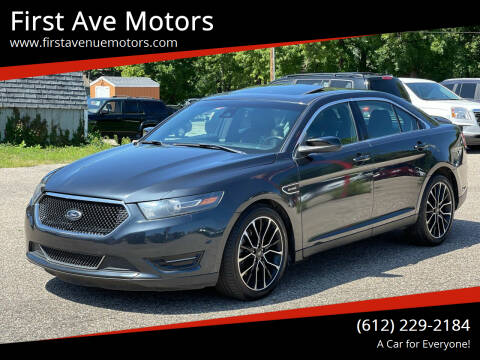 2017 Ford Taurus for sale at First Ave Motors in Shakopee MN