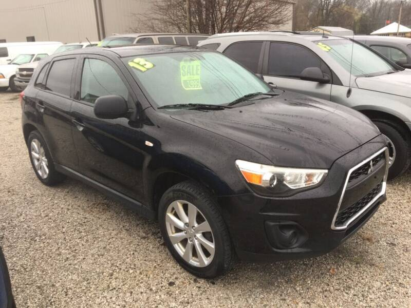 2013 Mitsubishi Outlander Sport for sale at G LONG'S AUTO EXCHANGE in Brazil IN