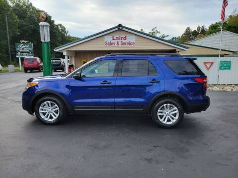 2015 Ford Explorer for sale at LAIRD SALES AND SERVICE in Muskegon MI