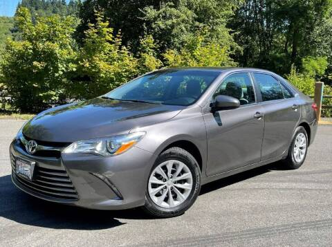 2016 Toyota Camry for sale at Halo Motors in Bellevue WA