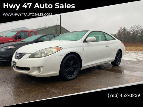 2006 Toyota Camry Solara for sale at Hwy 47 Auto Sales in Saint Francis MN