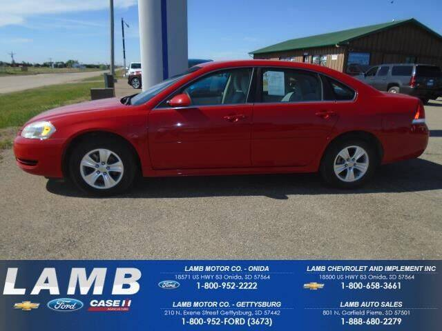 2013 Chevrolet Impala for sale in Onida, SD