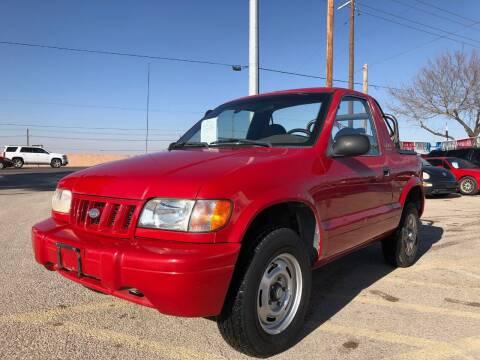 2002 Kia Sportage for sale at Eastside Auto Sales in El Paso TX
