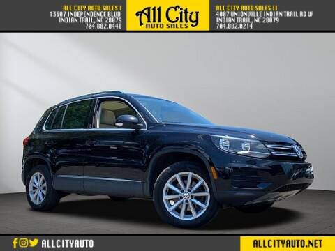 2017 Volkswagen Tiguan for sale at All City Auto Sales in Indian Trail NC