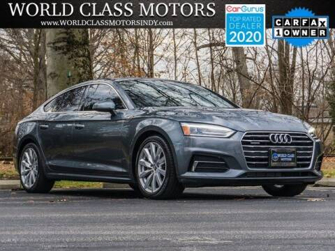 2018 Audi A5 Sportback for sale at World Class Motors LLC in Noblesville IN