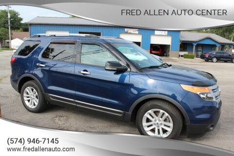 2012 Ford Explorer for sale at Fred Allen Auto Center in Winamac IN