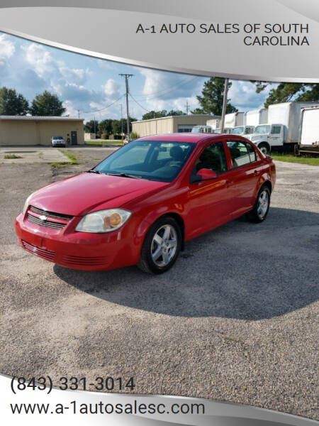 2010 Chevrolet Cobalt for sale at A-1 Auto Sales Of South Carolina in Conway SC
