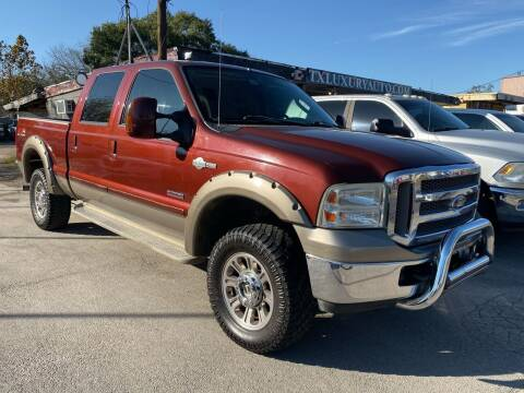 2005 Ford F-350 Super Duty for sale at Texas Luxury Auto in Houston TX