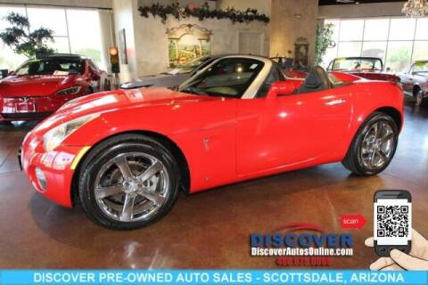 2007 Pontiac Solstice for sale at Discover Pre-Owned Auto Sales in Scottsdale AZ