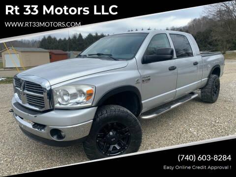 2007 Dodge Ram Pickup 3500 for sale at Rt 33 Motors LLC in Rockbridge OH