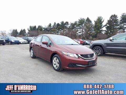 2015 Honda Civic for sale at Jeff D'Ambrosio Auto Group in Downingtown PA