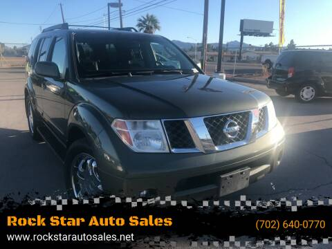 2005 Nissan Pathfinder for sale at Rock Star Auto Sales in Las Vegas NV