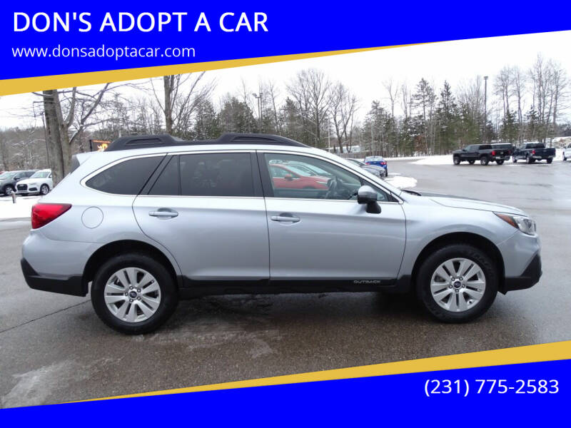 2018 Subaru Outback for sale at DON'S ADOPT A CAR in Cadillac MI
